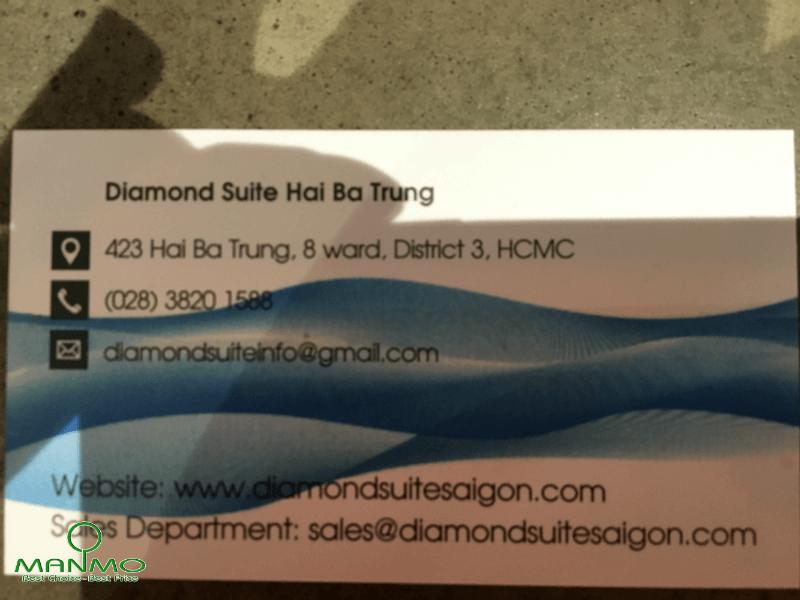 Diamond suite Hai Ba Trung