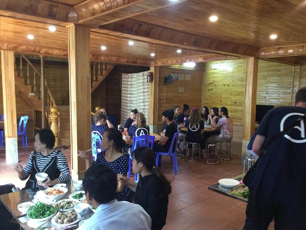 Hmong Stilt House