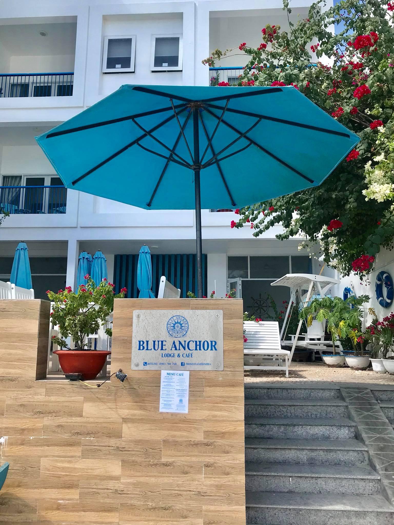 Blue Anchor - Logde & Café - Bình Ba Island