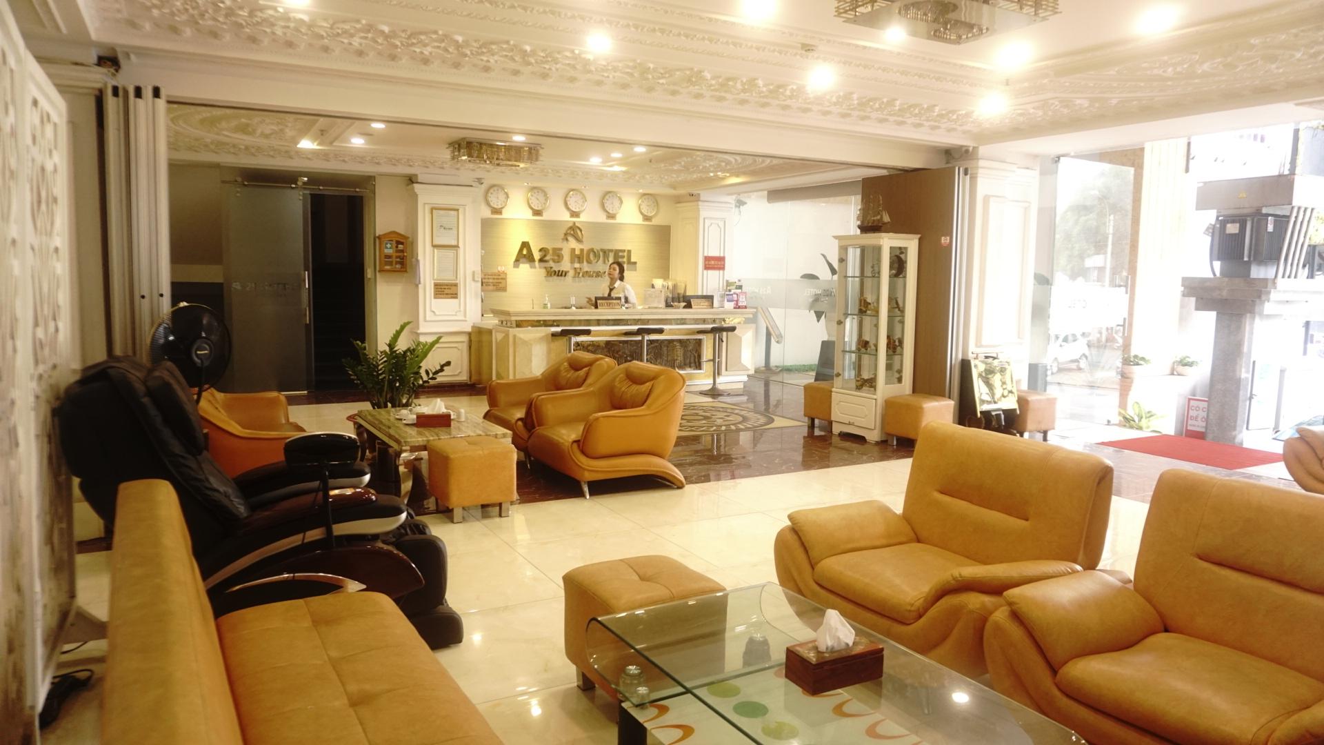 A25 Hotel - 145 Lê Thị Riêng (3 sao - quận 1 - TPHCM)