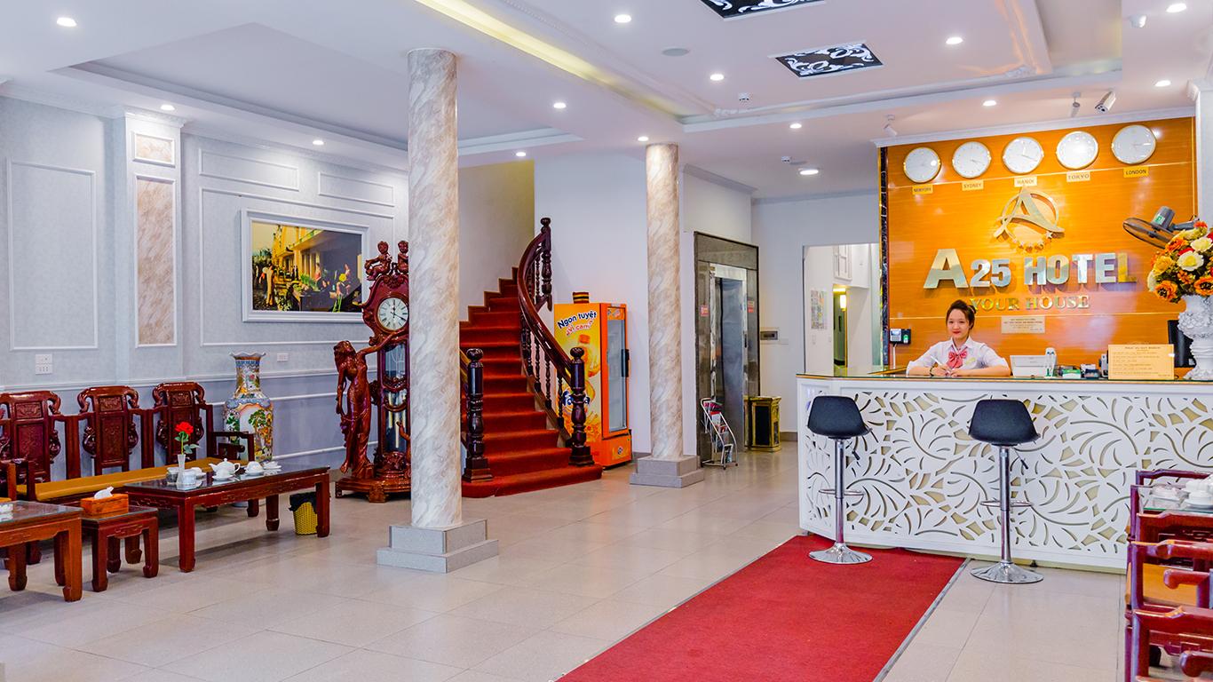A25 Hotel - 187 Lò Đúc (Hai Bà Trưng - Hà Nội)